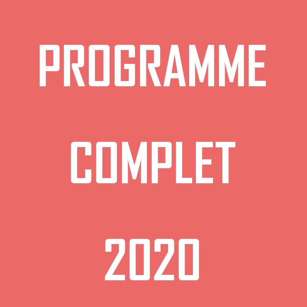 Le programme 2020